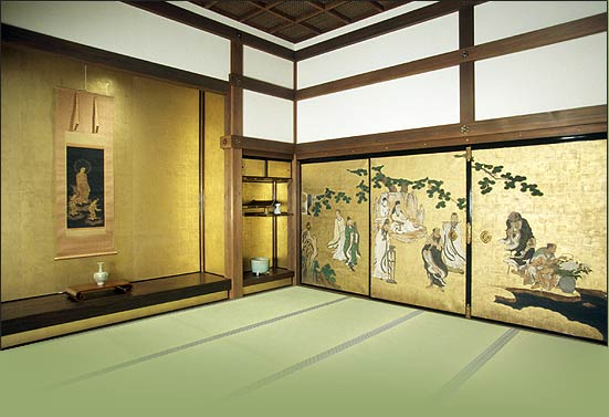 Japanese Audience Hall Shoin The Art Of Asia