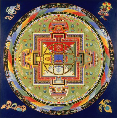 Yamantaka mandala the art of asia buddhism - Mandalas signification formes ...