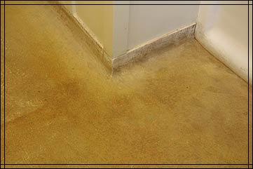 Purcell cutts tour bathroom magnesite flooring was formed to magnesite flooring was formed to create a raised edge along baseboard tyukafo